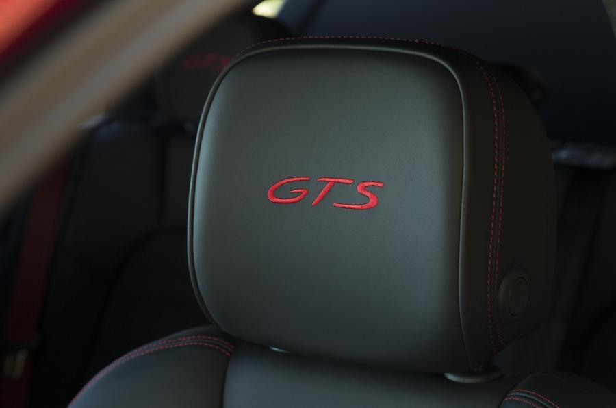 Porsche Macan GTS seat stitching