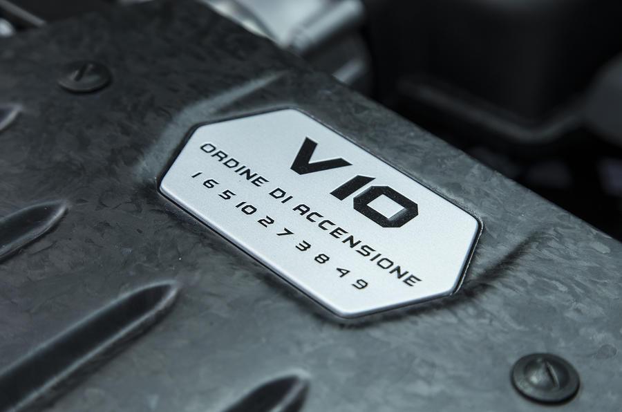 Lamborghini Huracán V10 plaque