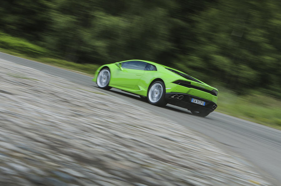 Lamborghini Gallardo-inspired Huracán