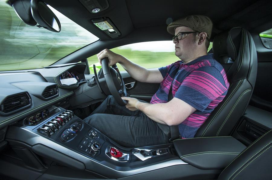 Driving the Lamborghini Huracán