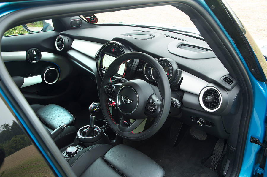 Mini Cooper SD dashboard