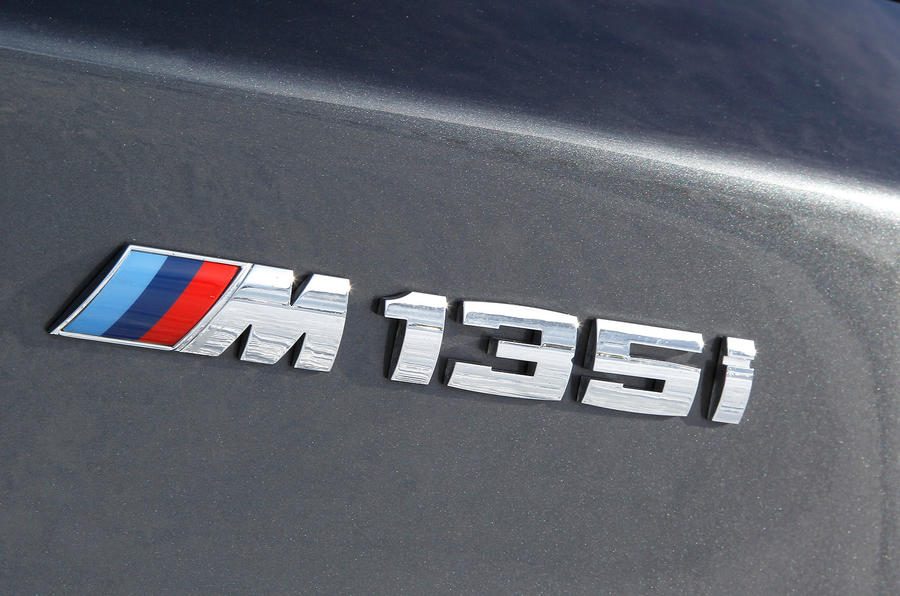 BMW M135i badging