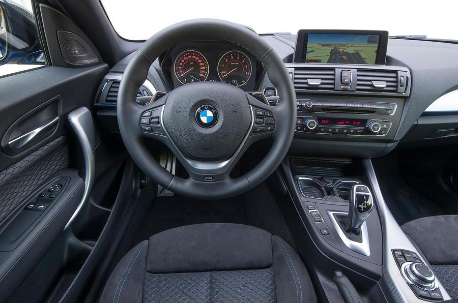 BMW M135i xDrive dashboard