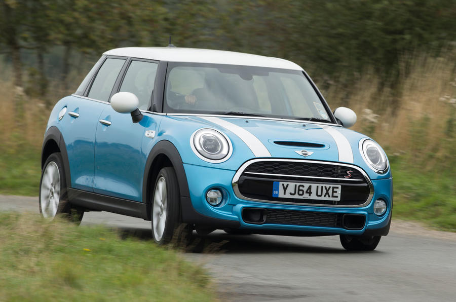 Mini Cooper SD cornering