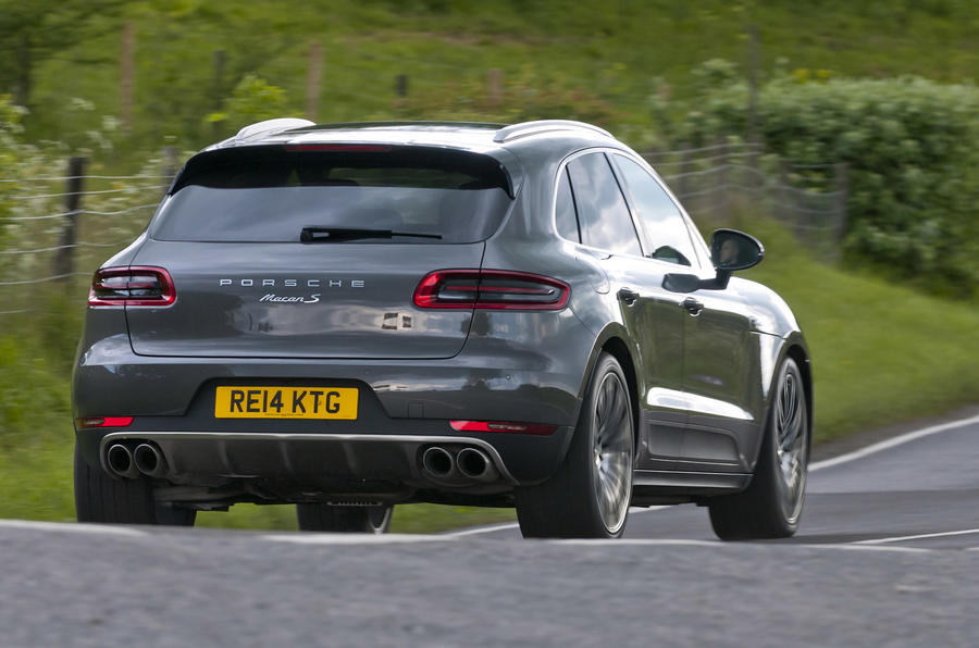 143mph Porsche Macan S Diesel