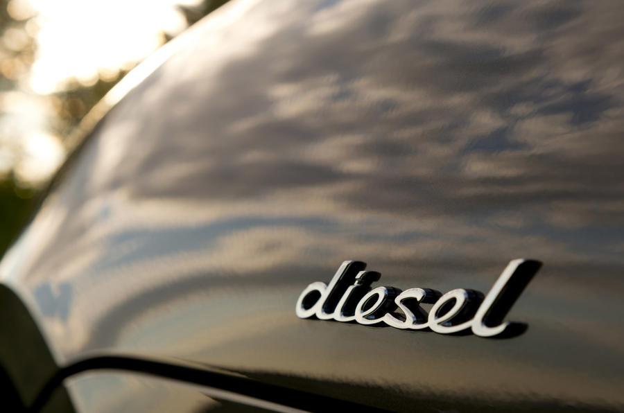 Porsche Macan S Diesel badging