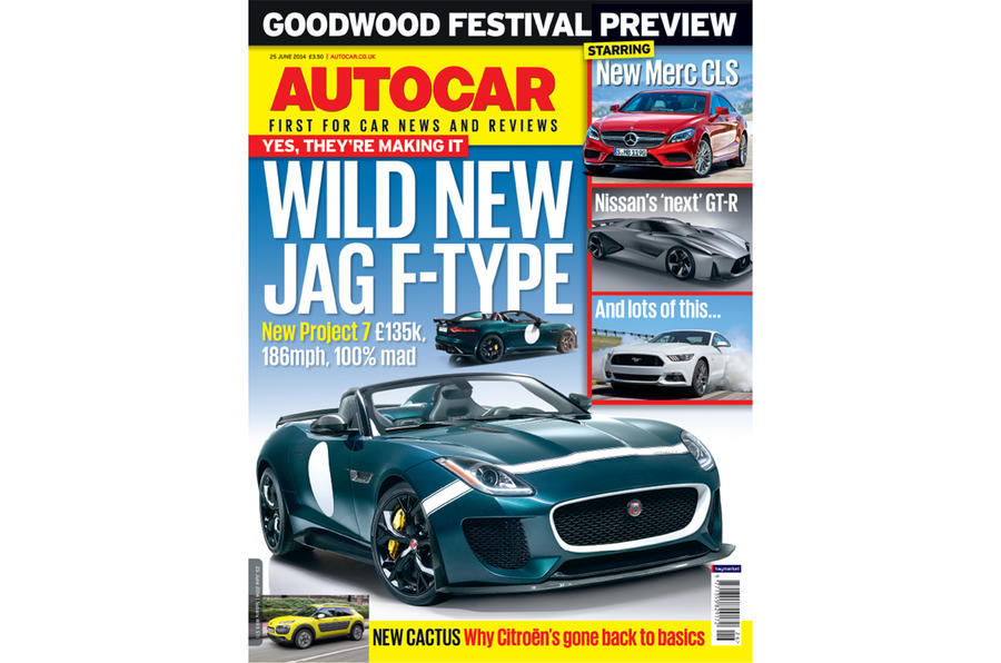 Autocar magazine 25 June preview