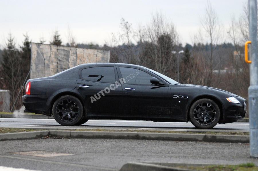 Maserati's XFR rival - first pics