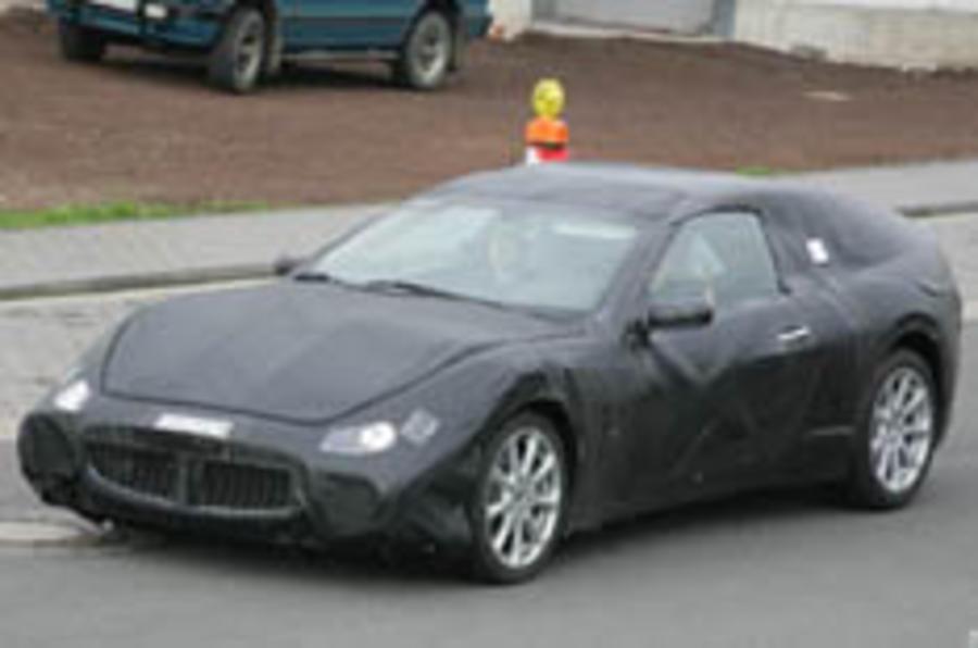 Maserati's 911 caught testing