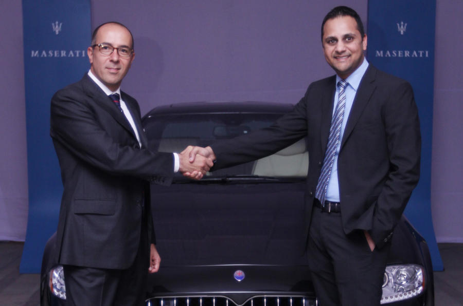 Maserati enters Indian market