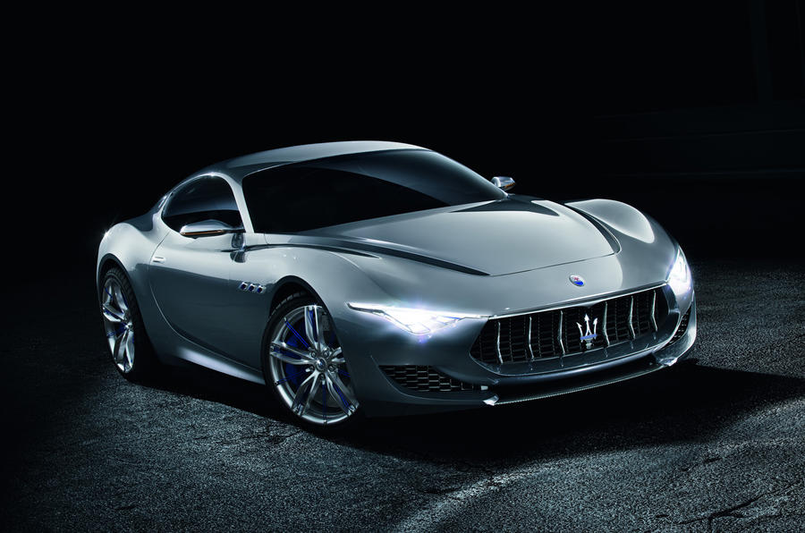 Maserati Alfieri sports car concept revealed