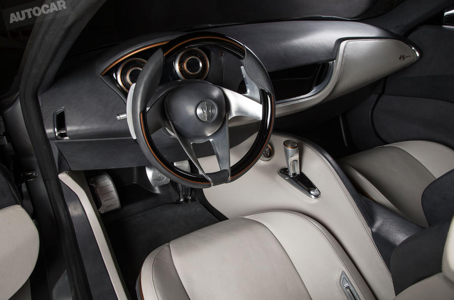 Maserati Alfieri - exclusive studio pictures