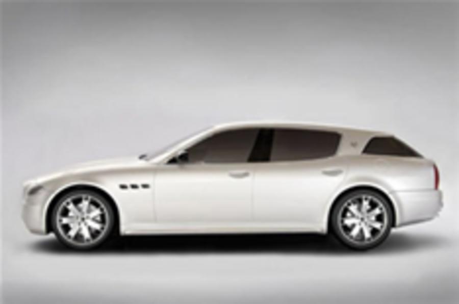 Maserati's one-off estate