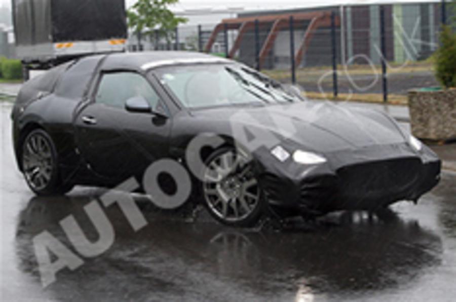 Spied: New Maserati Spyder