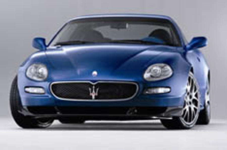 Maserati has the blue, not the blues