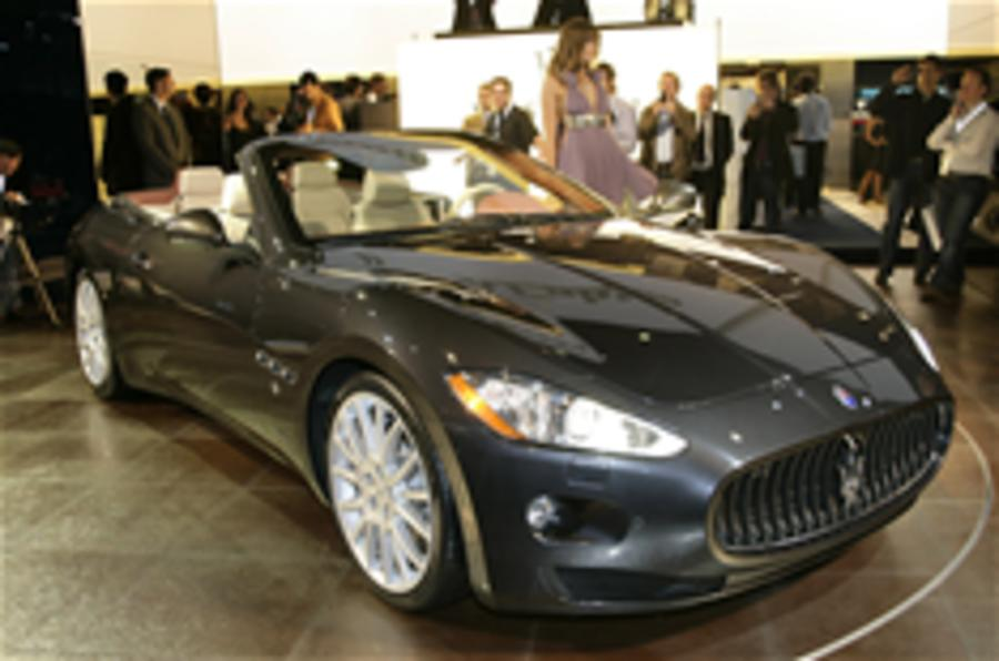 Frankfurt motor show: Maserati cabrio