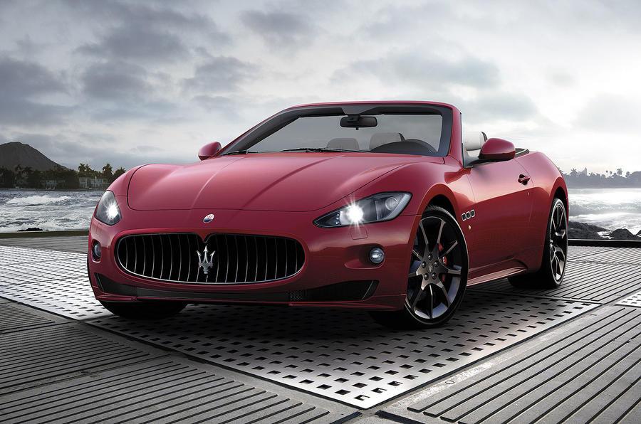 Geneva show: Maserati GranCabrio Sport