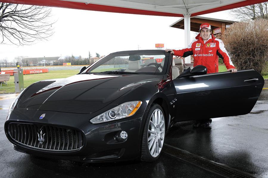 Alonso's Maserati GranCabrio