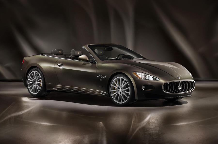 Frankfurt show: Maserati GranCabrio