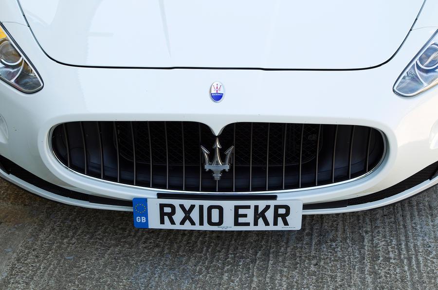 Maserati GranCabrio front grille