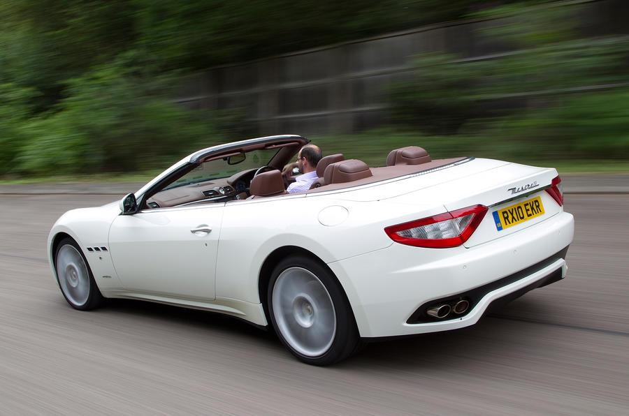 The 433bhp Maserati GranCabrio