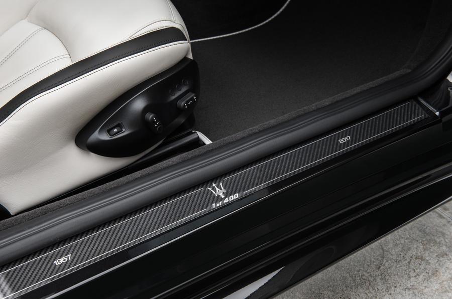 Maserati GranCabrio scuff plates