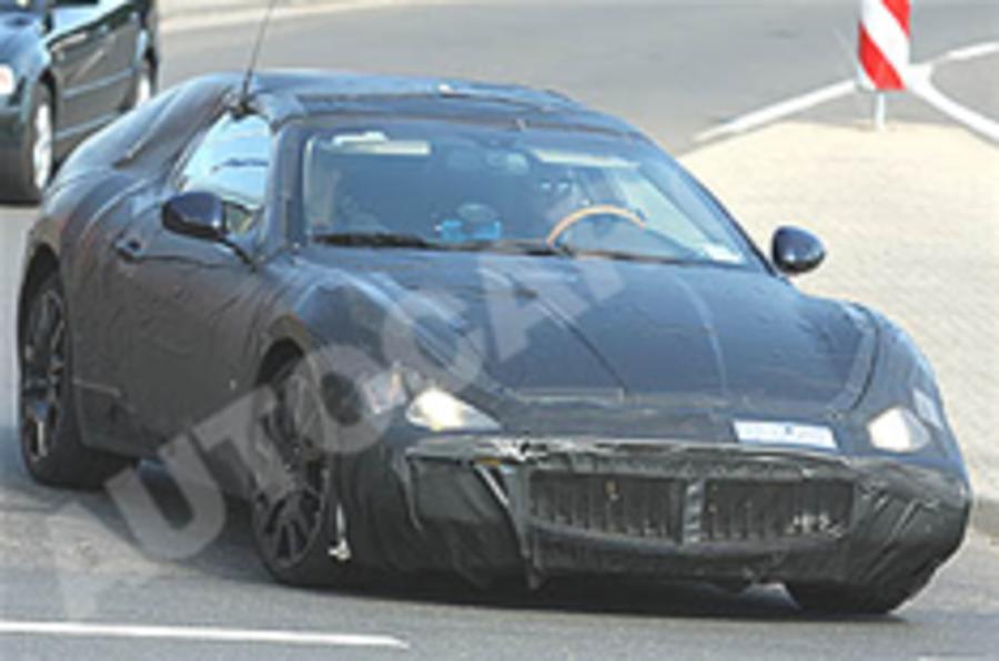 Maserati Spyder spied testing