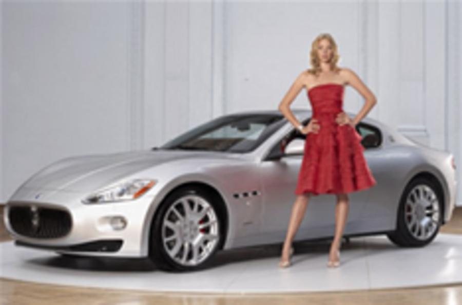 Maserati GranTurismo makes UK debut