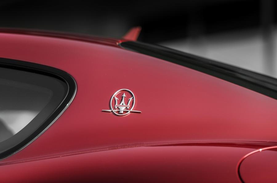 Maserati GranTurismo badging