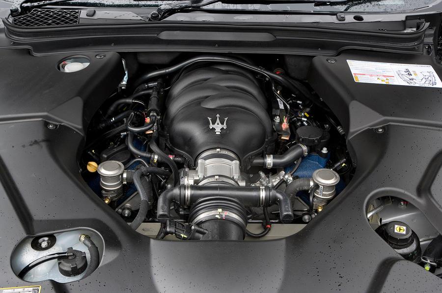 Maserati GranTurismo 4.7-litre V8 engine