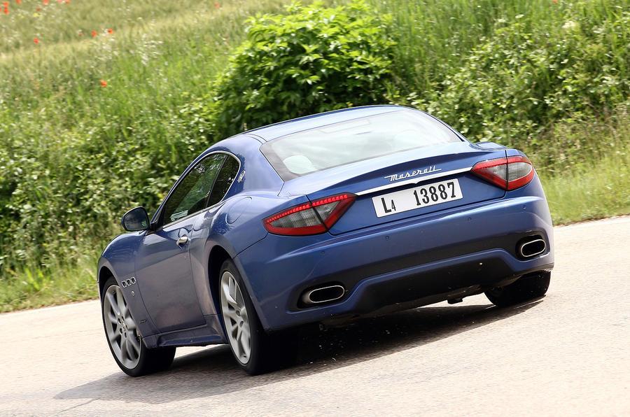 Maserati GranTurismo Sport rear cornering