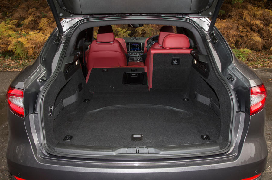 Maserati Levante boot space