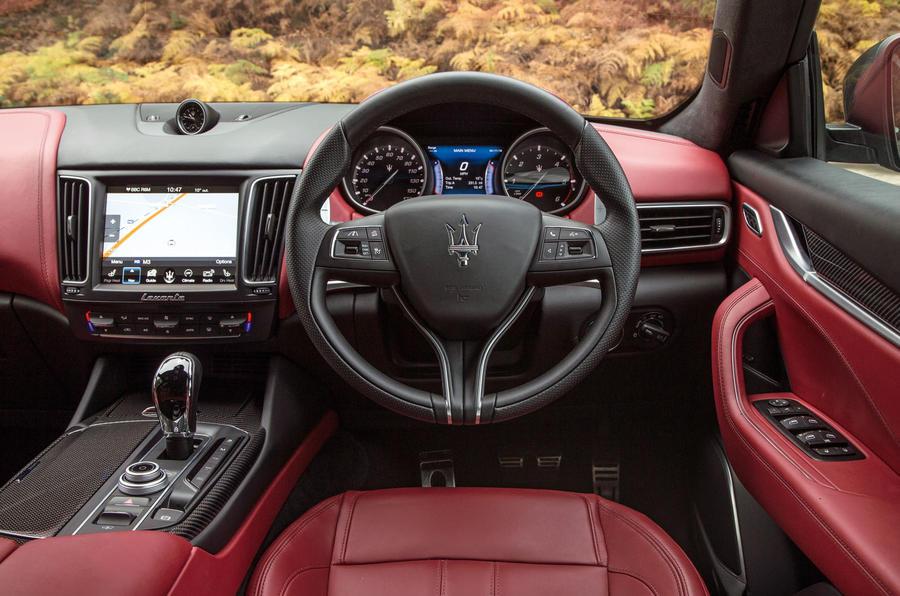 Maserati Levante dashboard