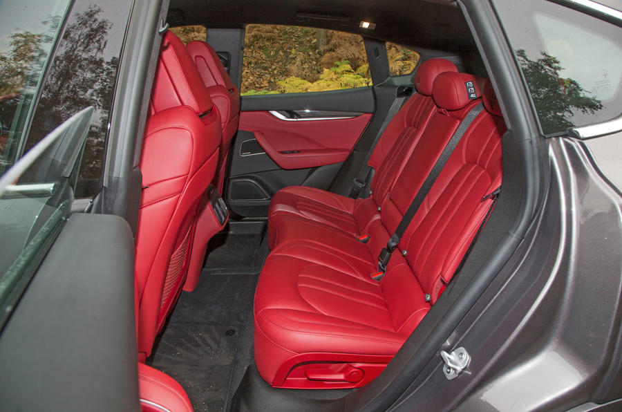 Maserati Levante rear seats