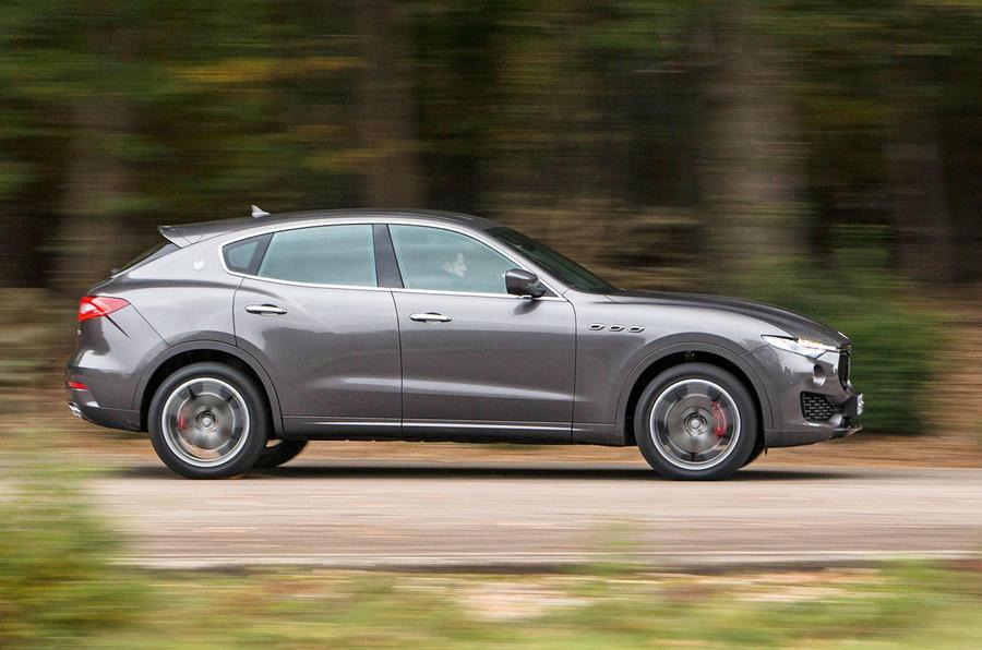 Maserati Levante side profile