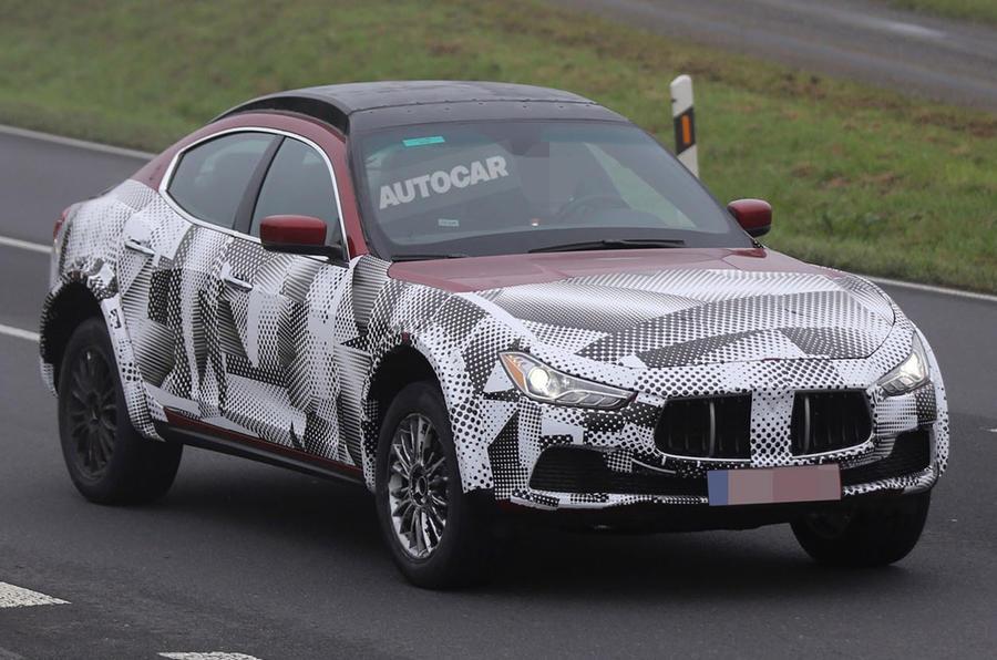 Alfa Romeo starts work on Maserati-based SUV