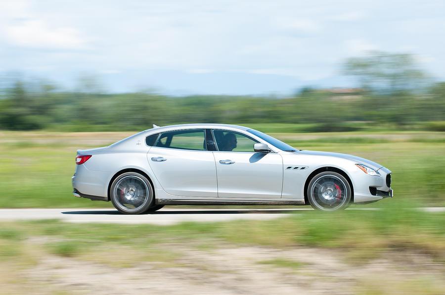 Maserati Quattroporte S side profile