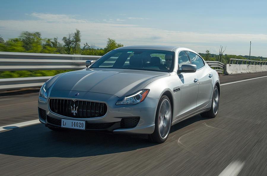 Maserati Quattroporte front quarter