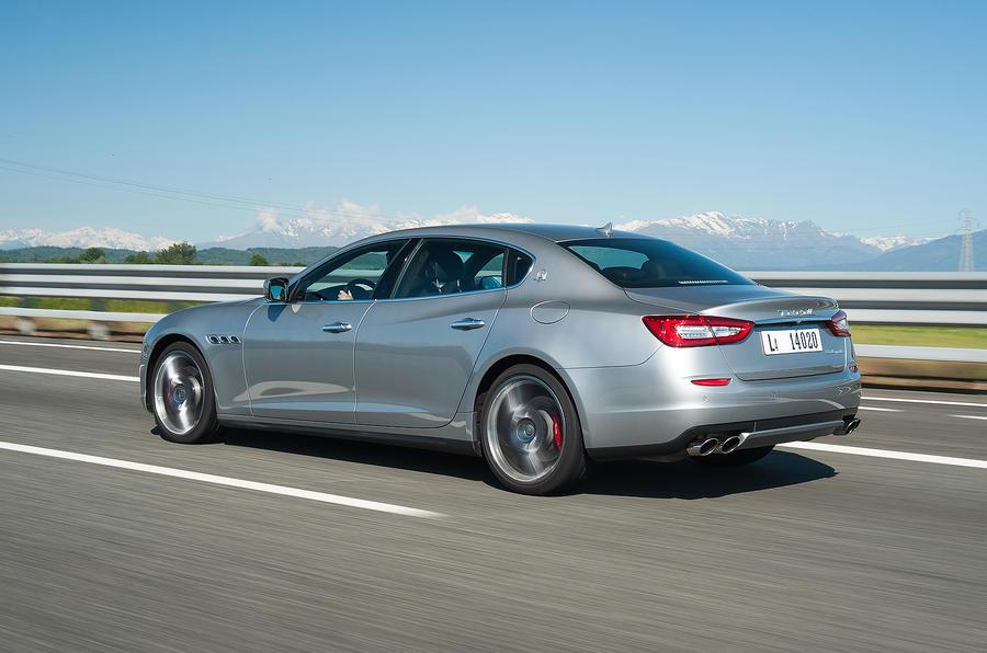 Maserati Quattroporte rear quarter