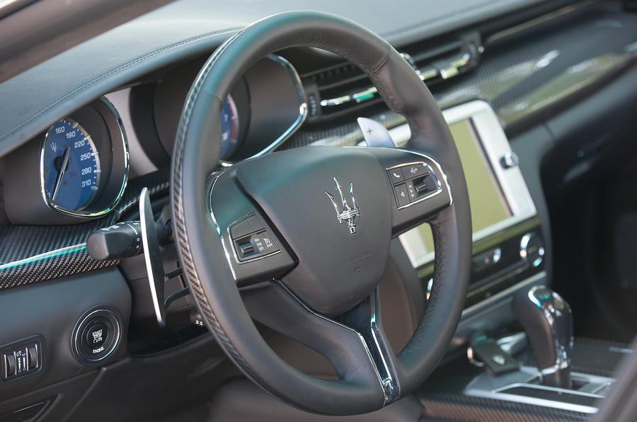 Maserati Quattroporte S interior