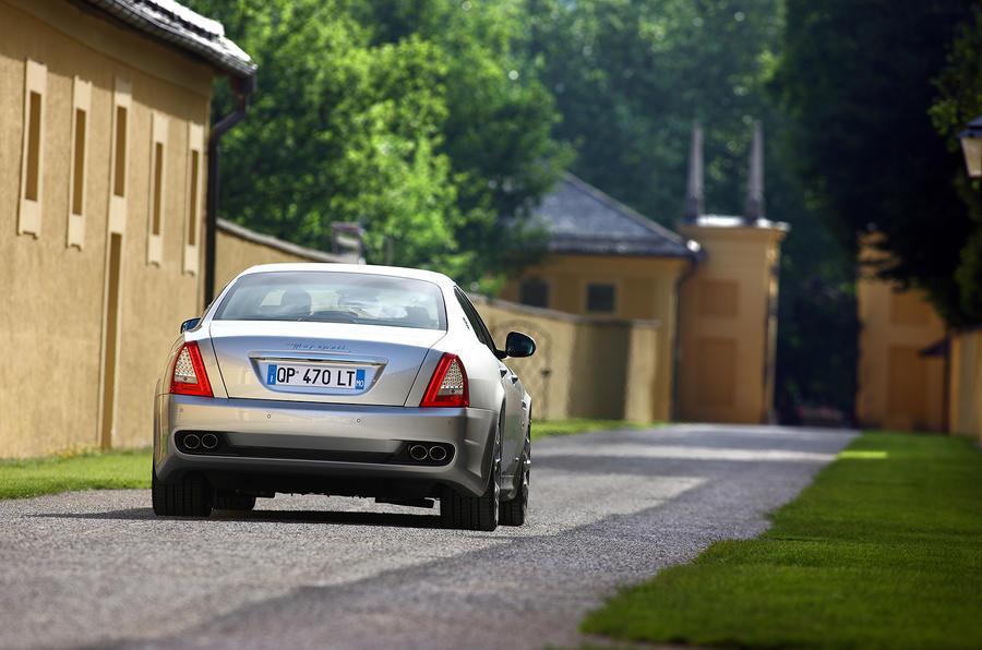 Maserati Quattroporte rear end