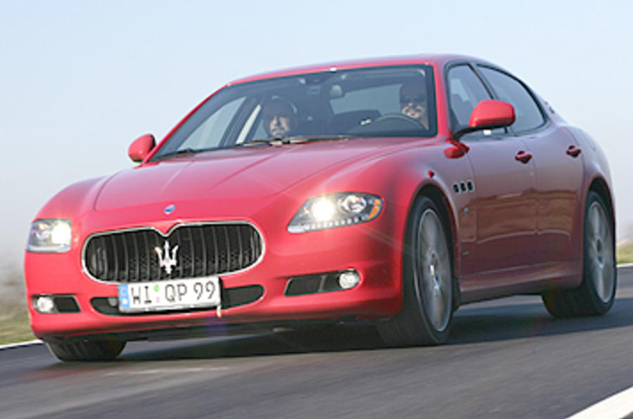 'Quattroporte will not get bigger'