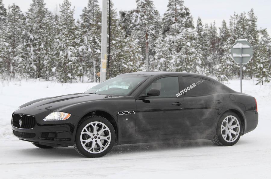 New Maserati Quattroporte scooped