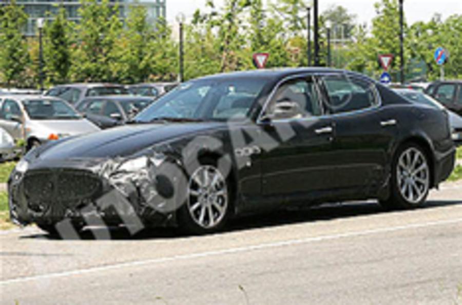 Spied: Maserati Quattroporte