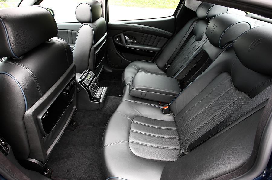 Maserati Quattroporte rear seats