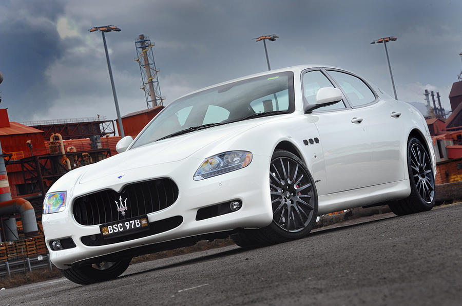 Maserati's hotter Quattroporte