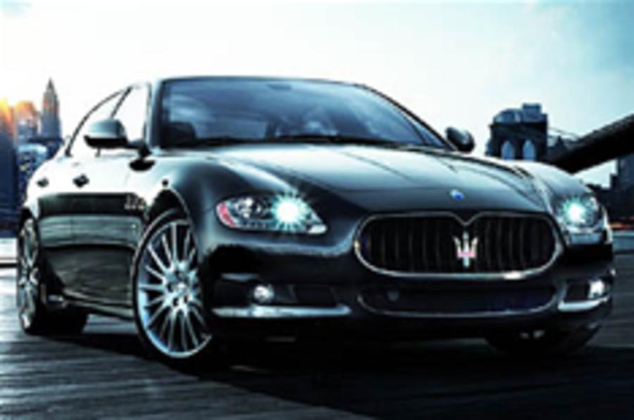 Flagship Maserati revealed