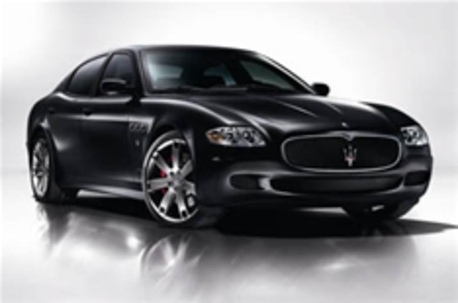 Meaner Maserati Quattroporte inbound