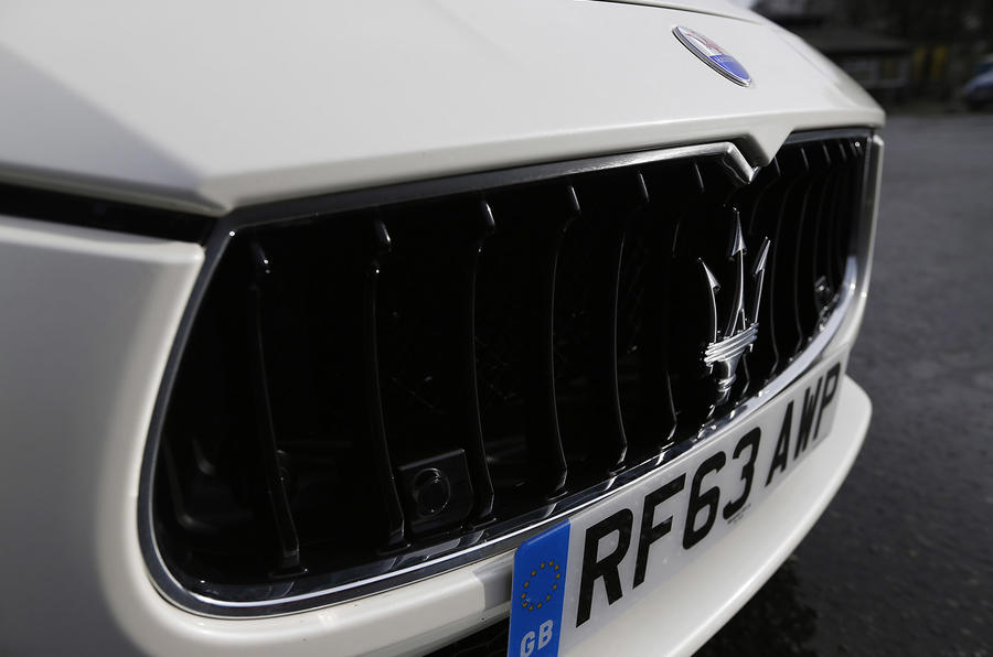 Maserati Ghibli front grille