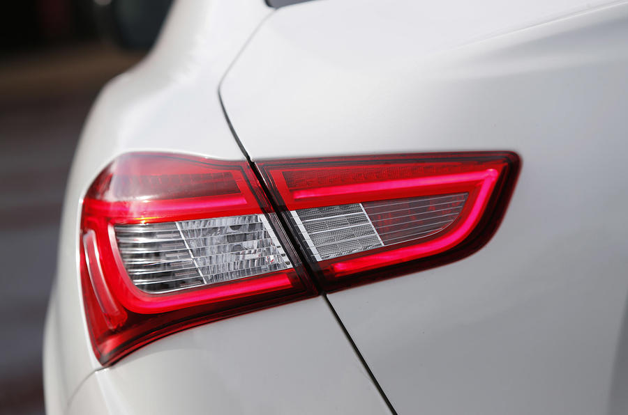 Maserati Ghibli rear lights